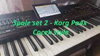 Spale set 2 - Korg Pa4x - Cocek style (new set)