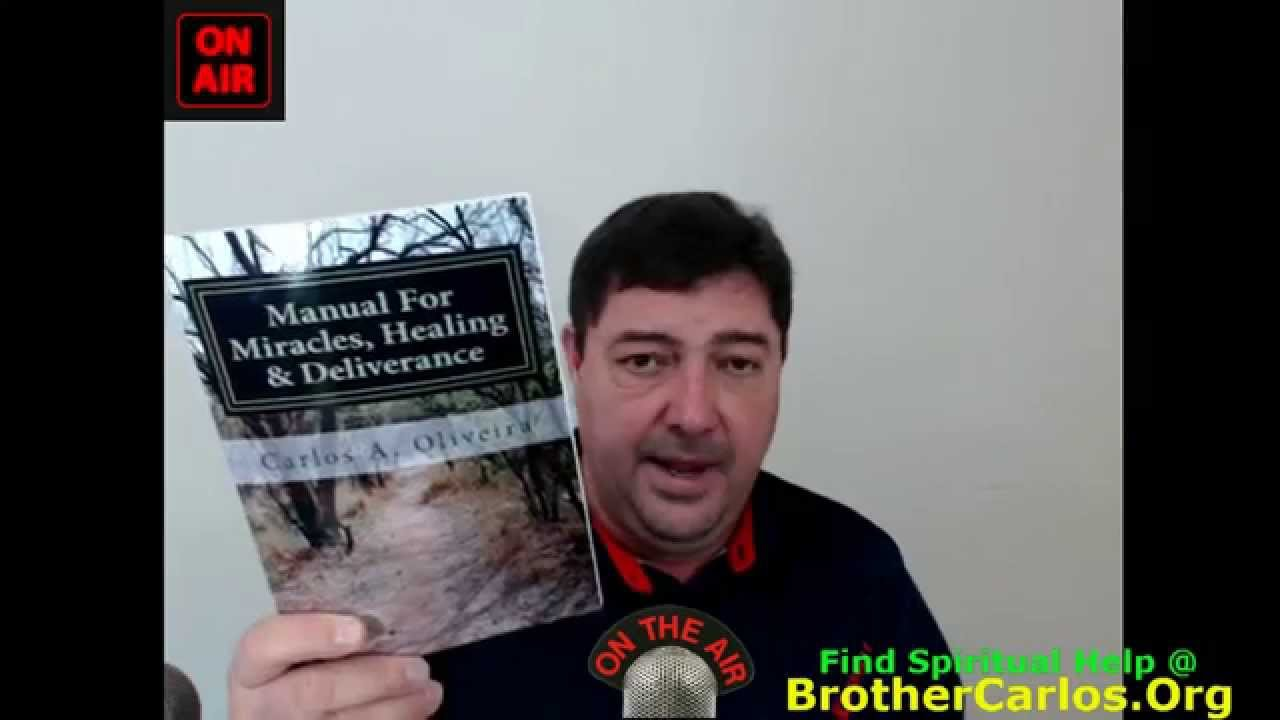 INNER-HEALING & ANOINTING FOR MINISTRY PRAYER CAMPAIGN, by Brother Carlos
