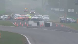 Porsche Carrera Cup Italia 2017. Race 1 Autodromo Nazionale Monza. Start Crash