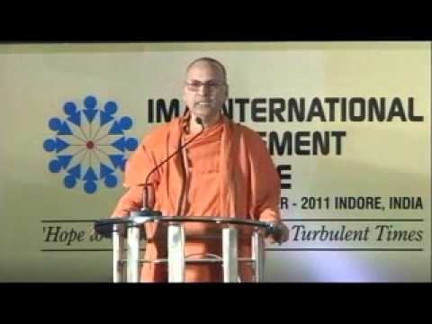 Swami Samarpanananda talk at IMA, Indore