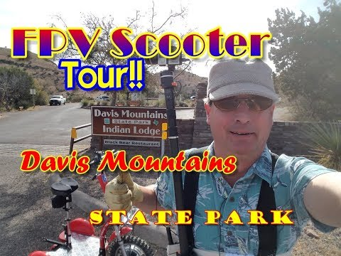 Davis Mountains State Park & Indian Lodge, Texas [Official FPV Tour]