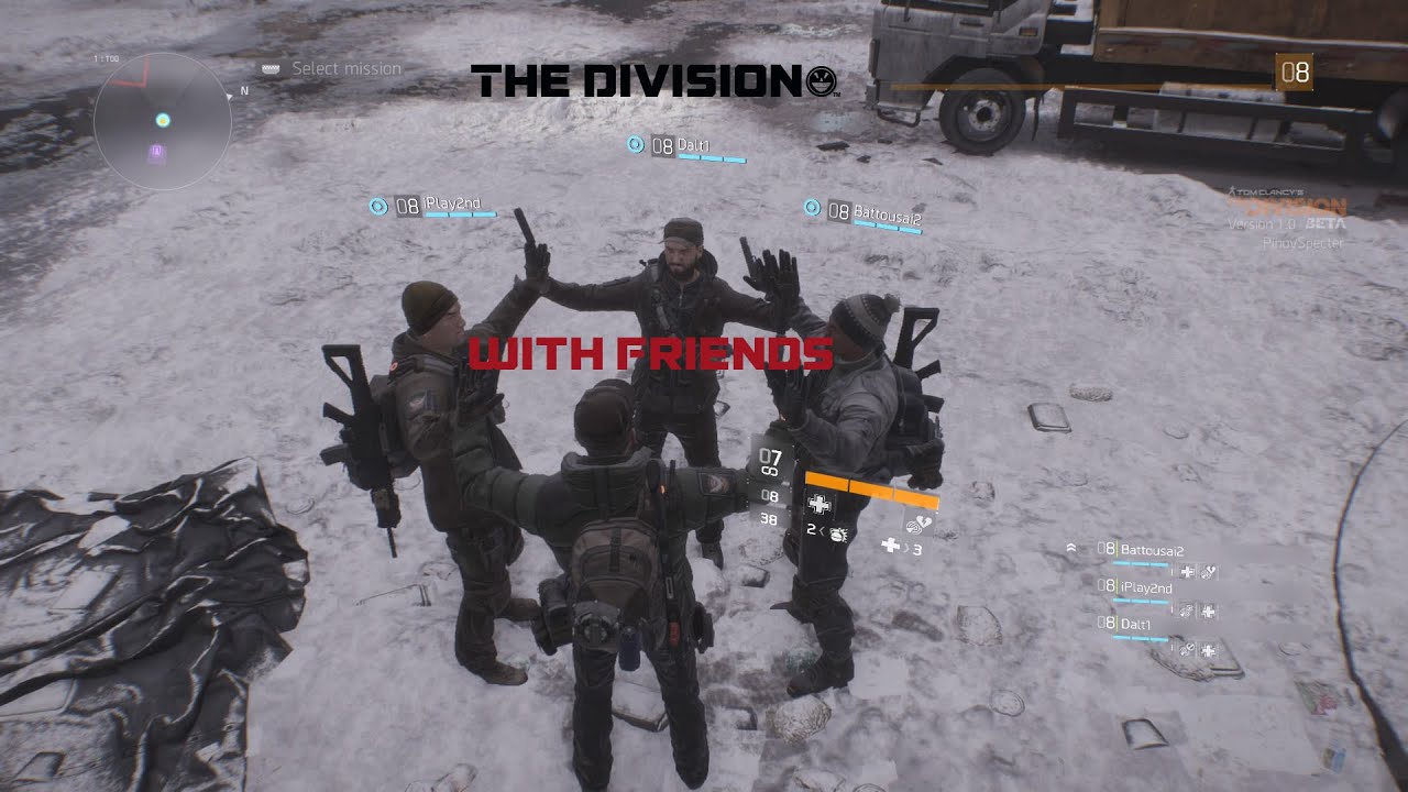 find your friends at dark zone