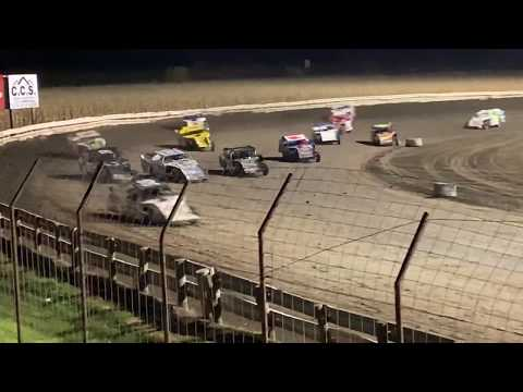 Lee County Speedway Shiverfest Sport Mod Feature part 2 10-27-19