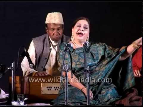 Farida Khanum in concert : Malika-e-Ghazal in India