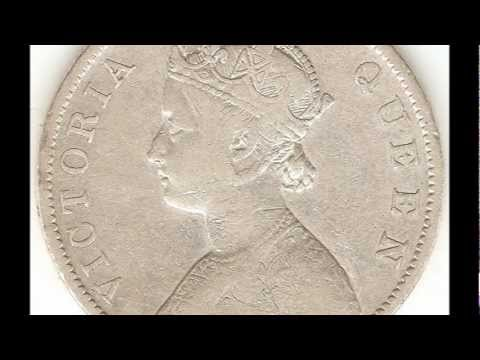 Victoria Empress One Rupee Silver Coin Year I Don't Know Plz Watch ~ For Sale