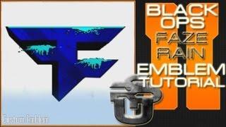 Faze Rain Logo : Call Of Duty Black Ops 2 Emblem Tutorial