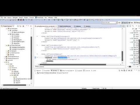 Java Spring Framework: Локализация Spring MVC (UTF-8, ISO-8859-1) . Урок 5