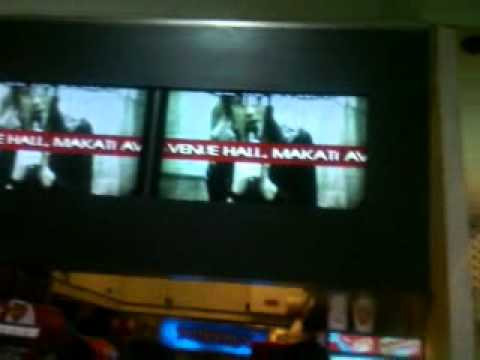 Anberlin Live In Manila AD in SM Movie Ticket Store