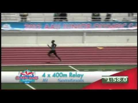 15-16 Boys 4x400m Relay 2012