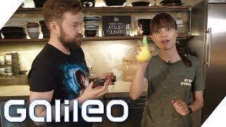 Zitronen-Sprüher oder Shrimps-Zange: Küchenhelfer im Test | Galileo | ProSieben