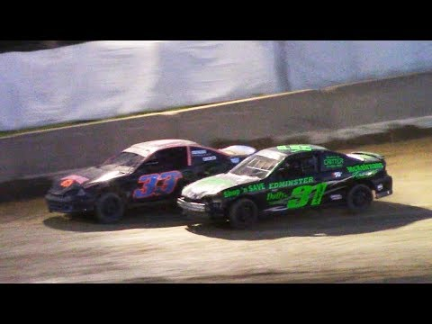 Kids Class Mini Stock Feature | Old Bradford Speedway | 7-9-17