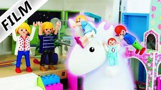 Playmobil Film deutsch   RIESEN EINHORN in der Luxusvilla? Hannah Vogel freut sich!   Kinderserie