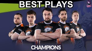 Virtus.Pro Road to Champion PGL Bucharest Major 2018 BEST PLAYS Hig...
