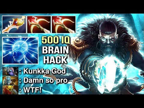 HOLY SICK PLAY !Attacker The Best Kunkka in The World WTF Brain Hack Divine Rapier Epic Game Dota 2