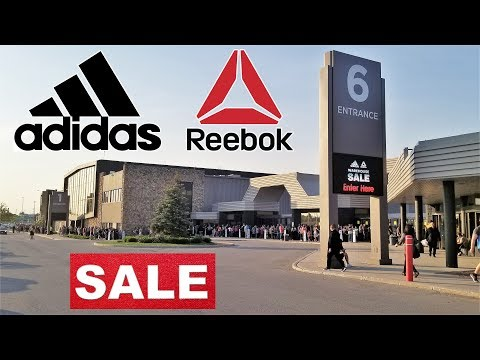 Adidas & Reebok SALE makes people go crazy at Misssissauga International Centre