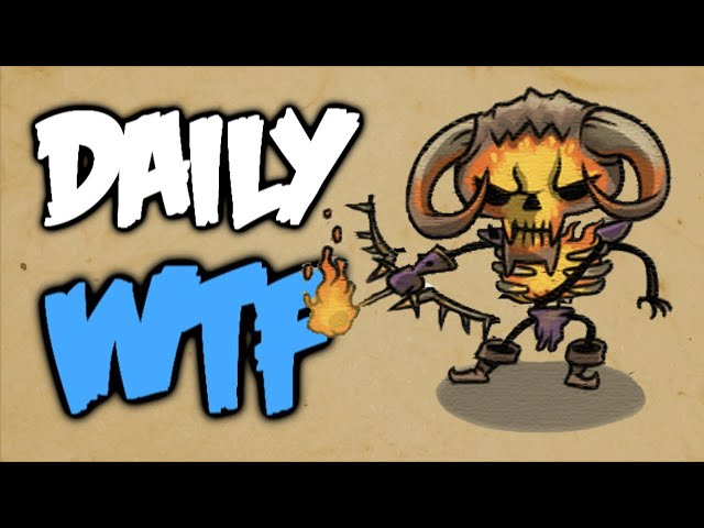 Dota 2 Daily WTF - Why are we still here?