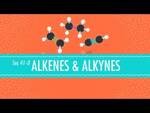 Alkenes & Alkynes - Crash Course Chemistry #41