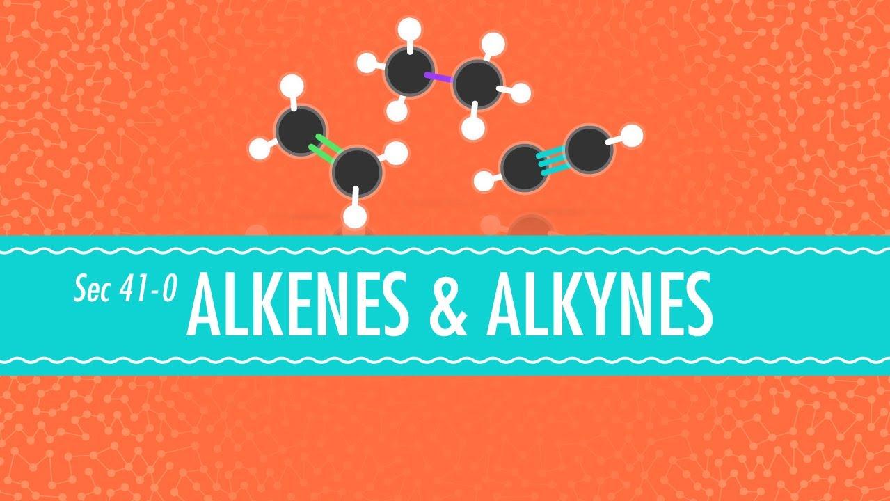 reactions of alkanes alkenes and alkynes