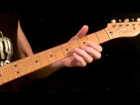 How To Play Knock On Wood Eddie Floyd Youtube