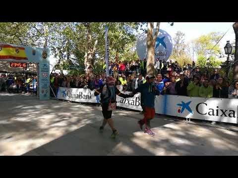 101 km Ronda 2018 La Legión (final de la prueba)