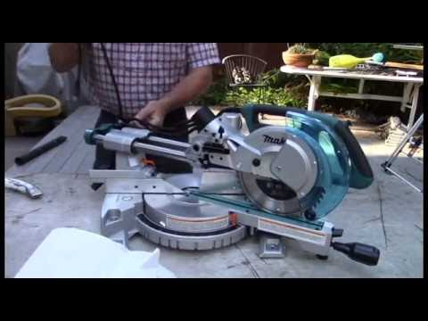 """Makita 8 1/2"""" Compound Miter Saw Unboxing/Review Model (LS0815F)"""