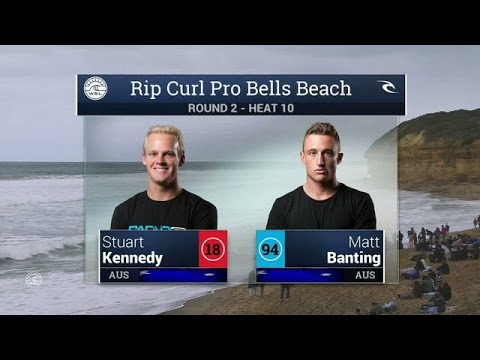 2016 Rip Curl Pro Bells Beach: Round 2, Heat 10 Video
