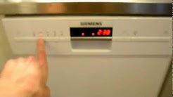 Siemens SR45M280SK -astianpesukone testissä