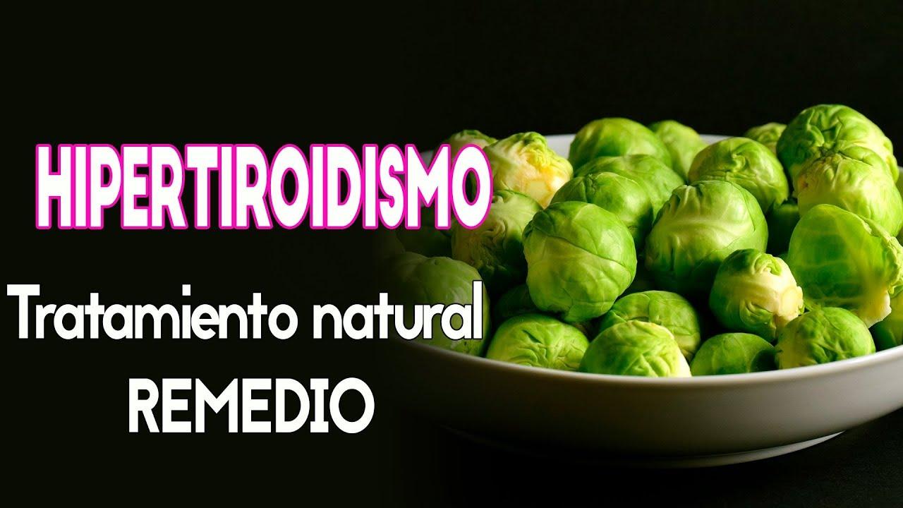 hipertiroidismo tratamiento natural REMEDIO - YouTube