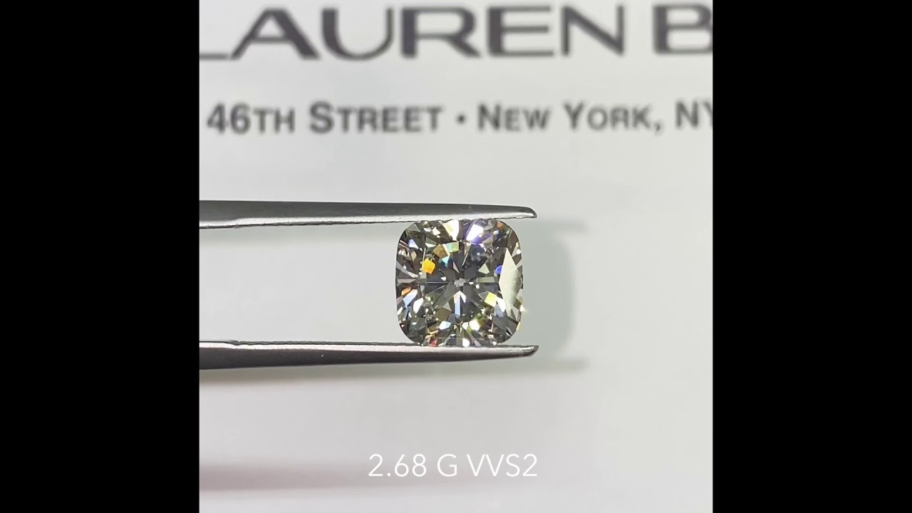 Carat Cushion Diamond Comparison: 2.68-3.55 carats