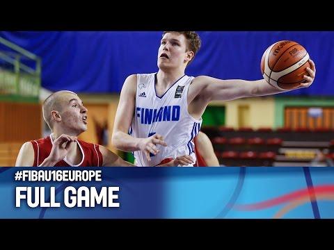 Finland v Serbia - Full Game - FIBA U16 European Championship 2016