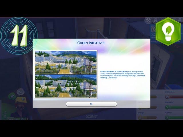 A zöld kezdeményezés (11#)🍃 /Eco Lifestyle/The sims 4