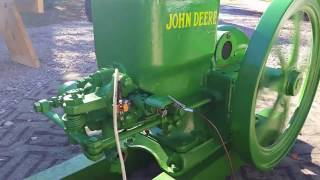 Running For Sale John Deere 1 1/2hp on Ebay