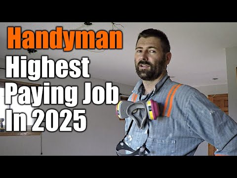Handyman Will Be The Highest Paying Job In 2025