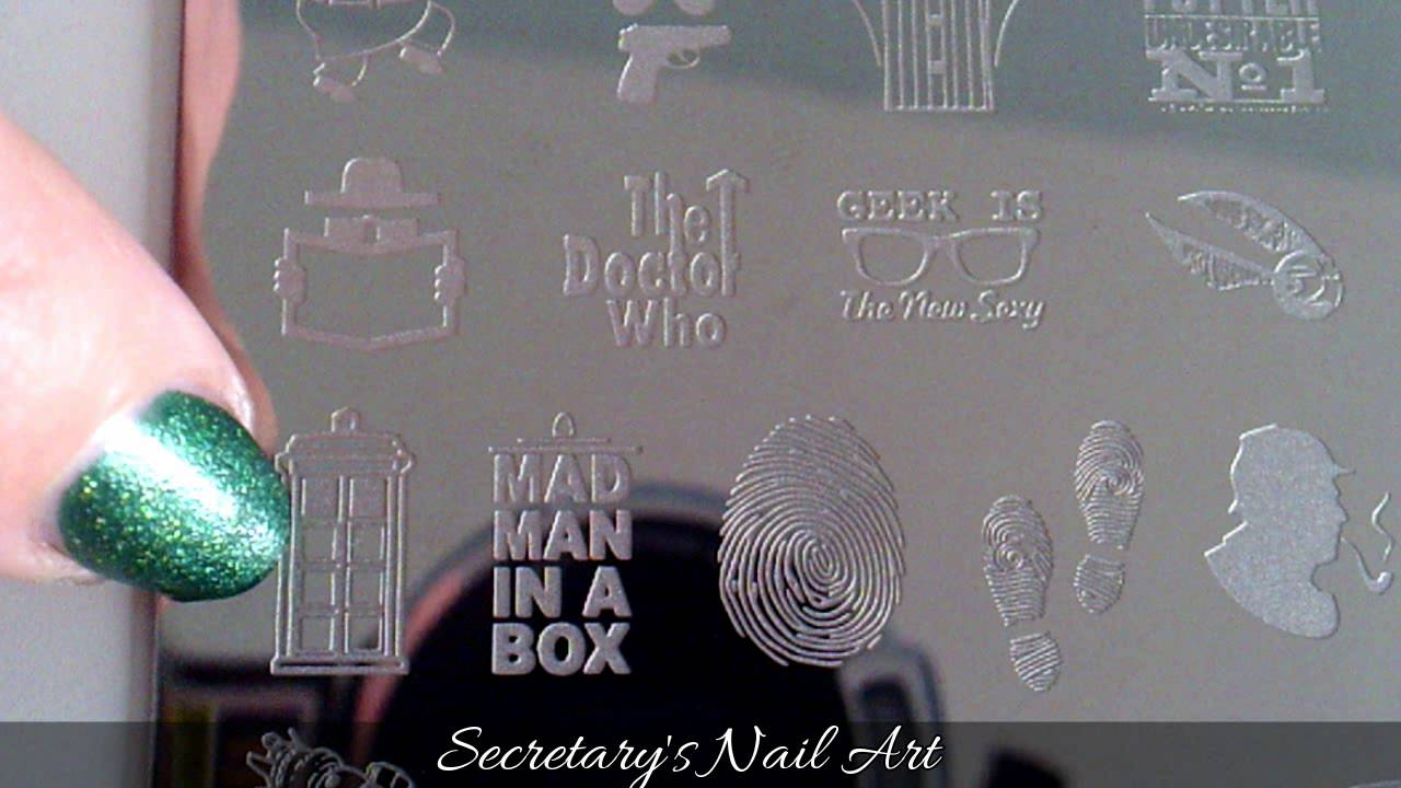My Online Shop - MJ JR31 - Stamping Plate - YouTube