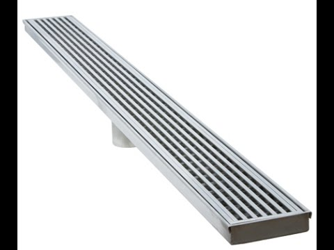 Introducing Luxe Linear Drains Youtube