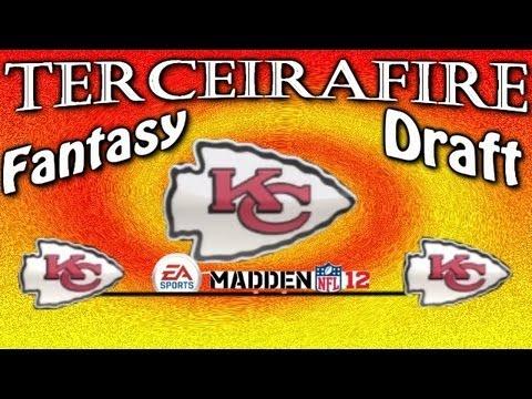 Mode walkthrough ft madden 12 chiefs fantasy draft 1 6 youtube