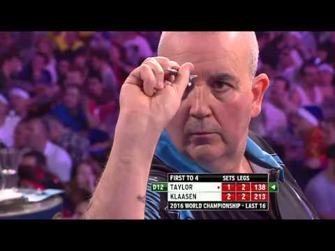PDC World Darts Championship 2016- Highlights Taylor vs Klaasen