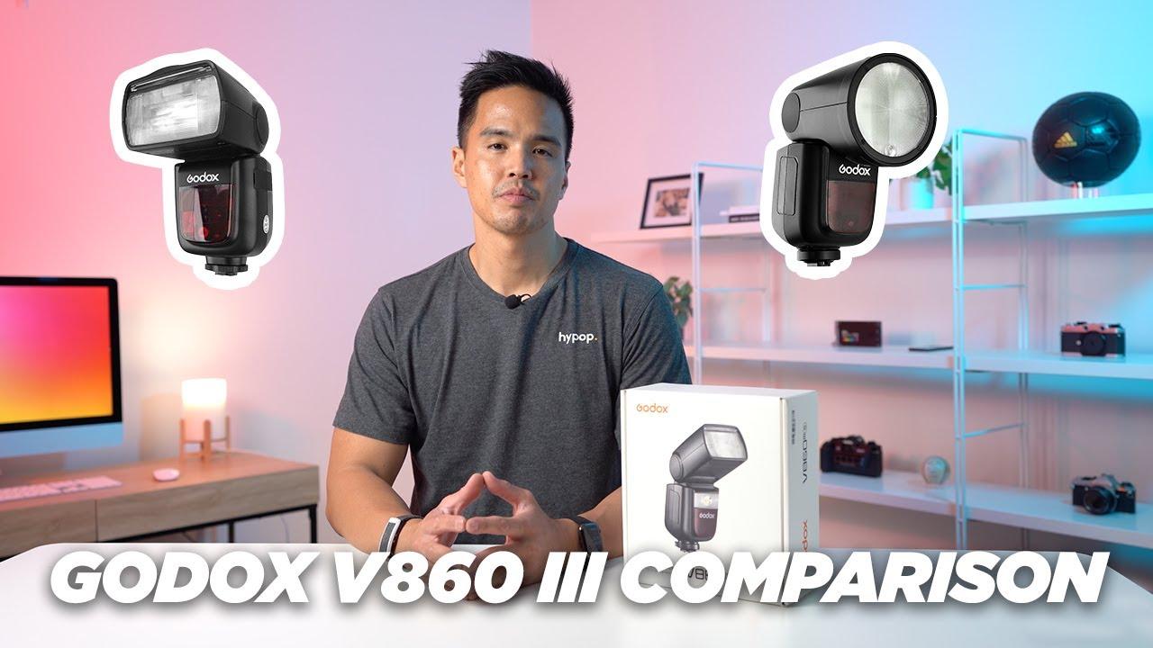 Download Godox V860III Speedlite Flash   Unboxing & Comparison With V860II/V1