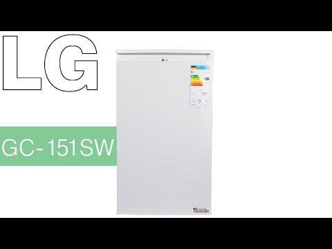 видео: lg gc-151sw - малогабаритный однокамерный холодильник - Видеодемонстрация от comfy