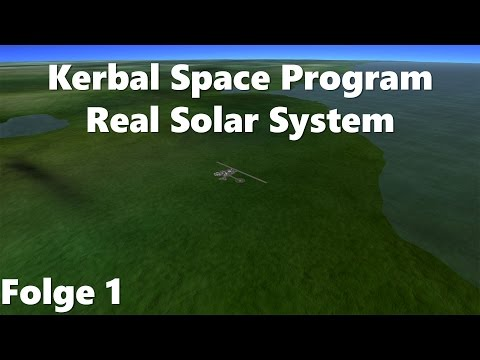 Kerbal Space Program | Real Solar System #1 | MoinxD! [German/Deutsch]