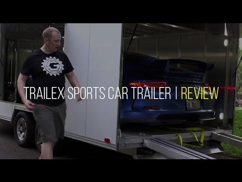 Trailex Enclosed Aluminum Sports Car Trailer (CT 84180) Review