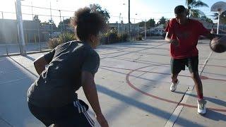 США | Лос-Анджелес | Баскетбол в американском гетто |  Влог 46