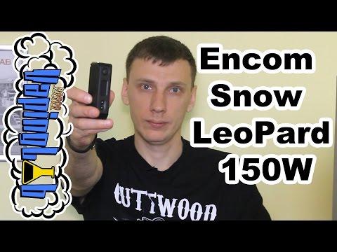 Обзор бокс-мода Encom Snow LeoPard 150W