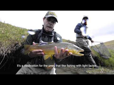 Flyfishing for Brook Trout in South Patagonia by Solid Adventures