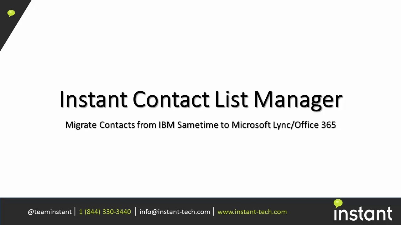instant contact list migration from sametime to office  instant contact list migration from sametime to office 365
