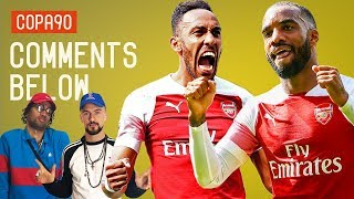 Can Aubameyang and Lacazette Finally Play Together? | Comments Below