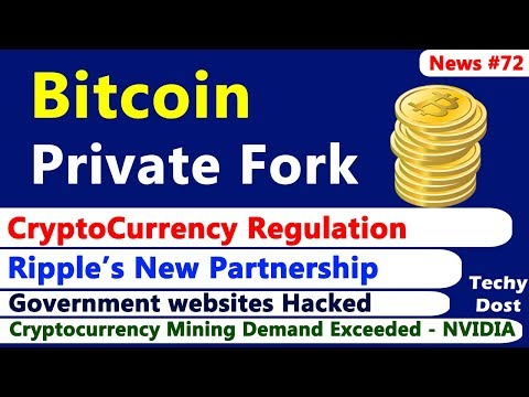 Bitcoin Private Fork, Ripple's new partnership with UAE Exchange, CryptoCurrency Regulation