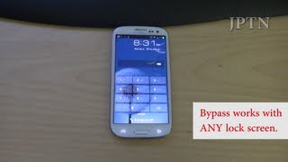 Samsung S3/Note 2 (i747 Rogers, Bell, Telus, AT&T) Lock Screen Bypass Demo/Security Hole