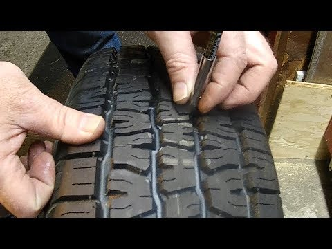 How To Use a Tire Tread Depth Gauge