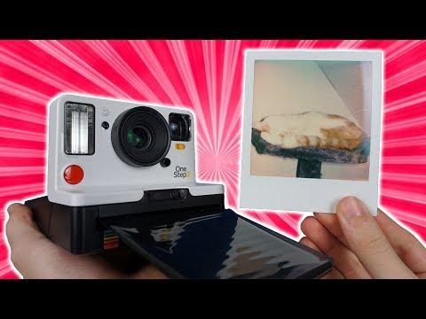 Kamera die Bilder SOFORT AUSDRUCKT! - Polaroid Kamera im Test!